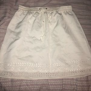 Jcrew brand new with tags - cream color skirt